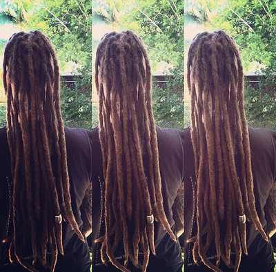 natural long dreadlocks